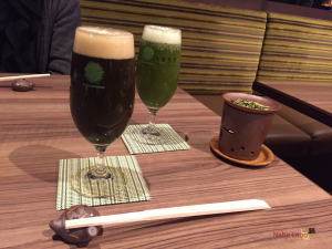 GREEN TEA RESTAURANT 1899 OCHANOMIZU 抹茶ビール