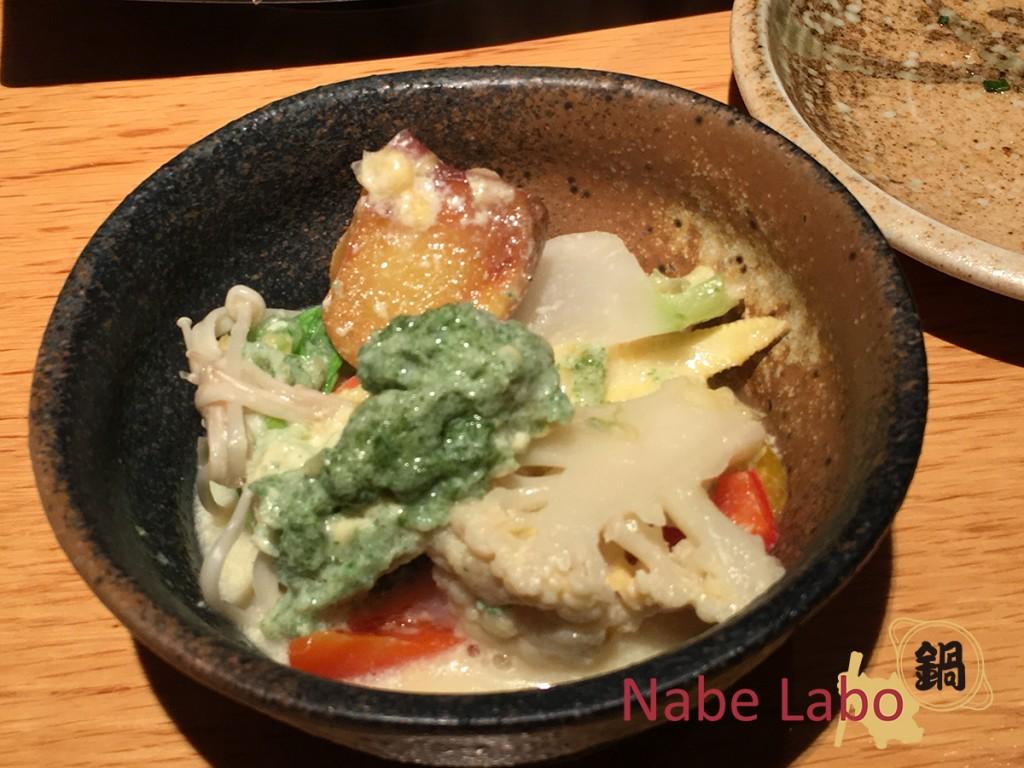 メレンゲグリーンスムージー鍋 -しぶや畑